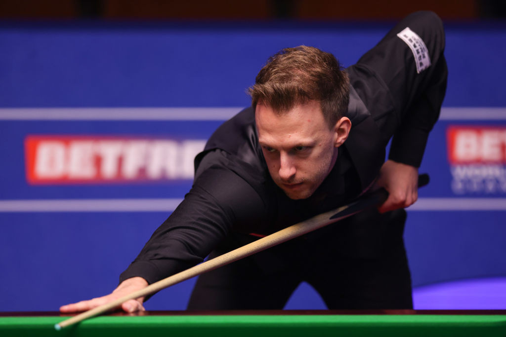 Trump on verge of reaching quarter-finals at World Snooker Championship