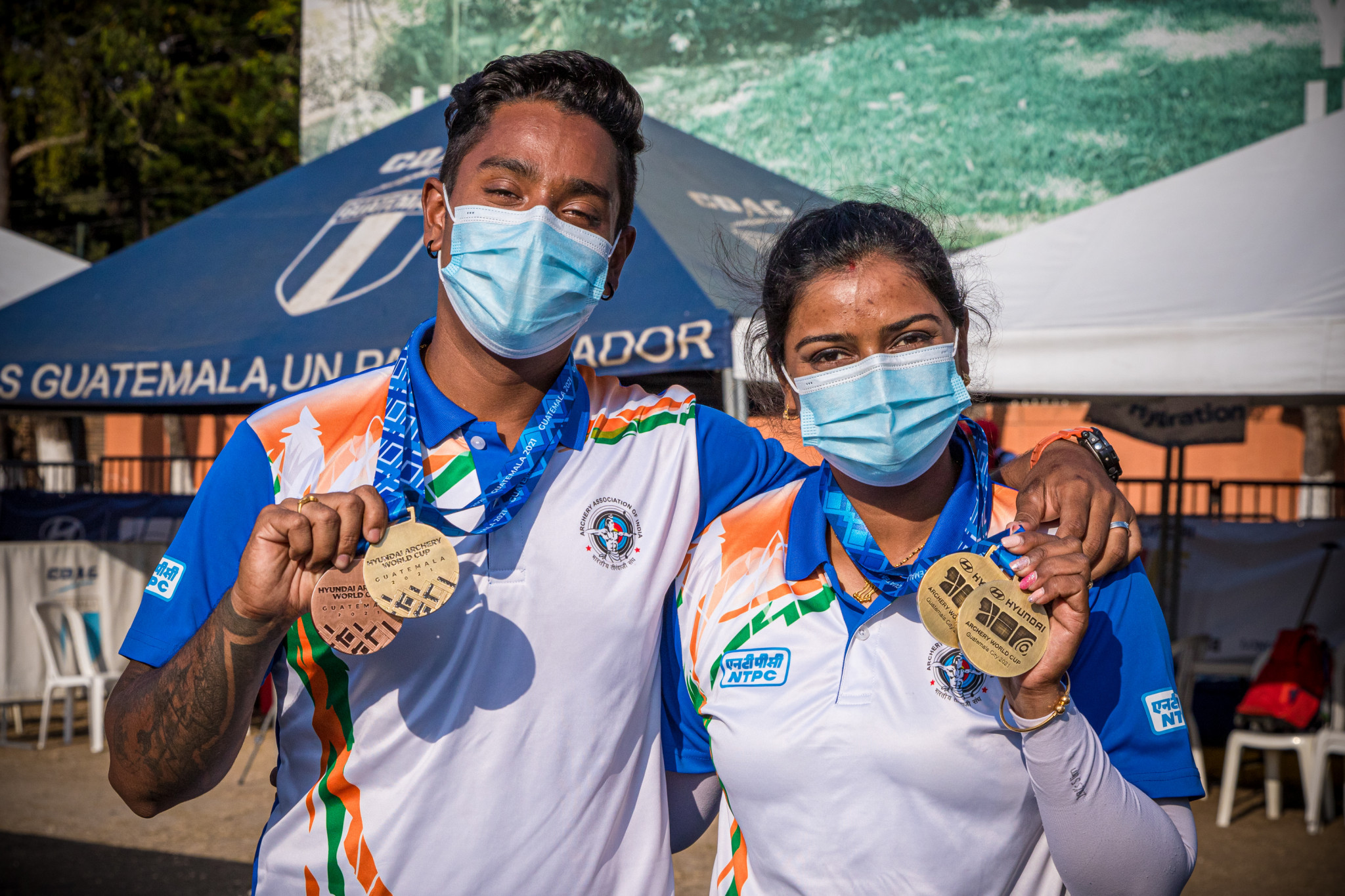 India's Kumari and Das claim recurve individual golds on final day of Archery World Cup