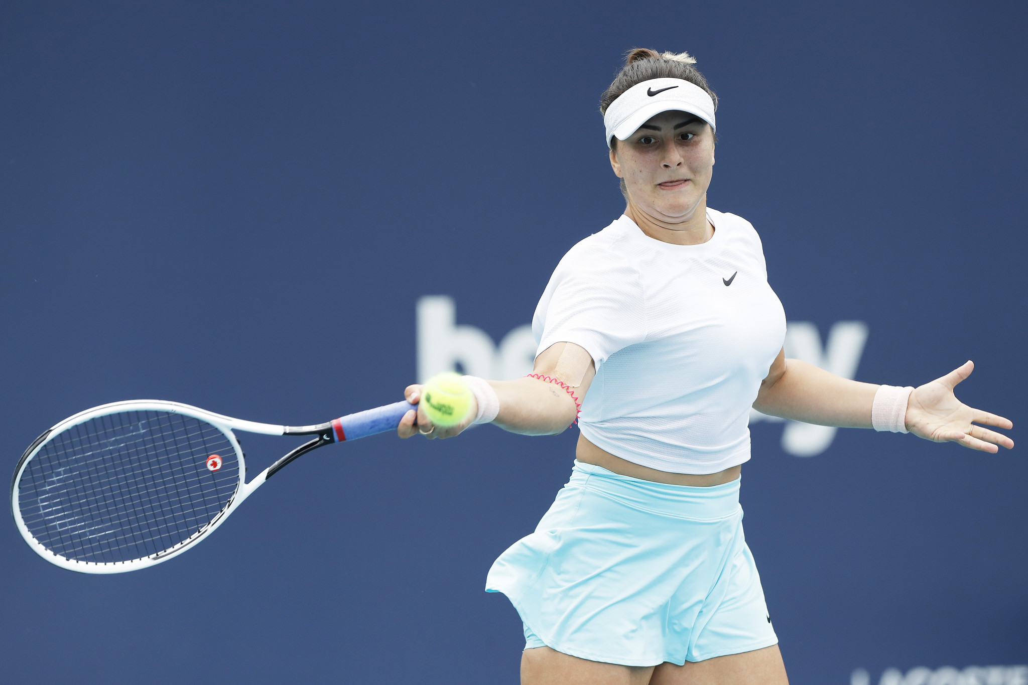 Andreescu ruled out of Madrid Open after testing positive for COVID-19