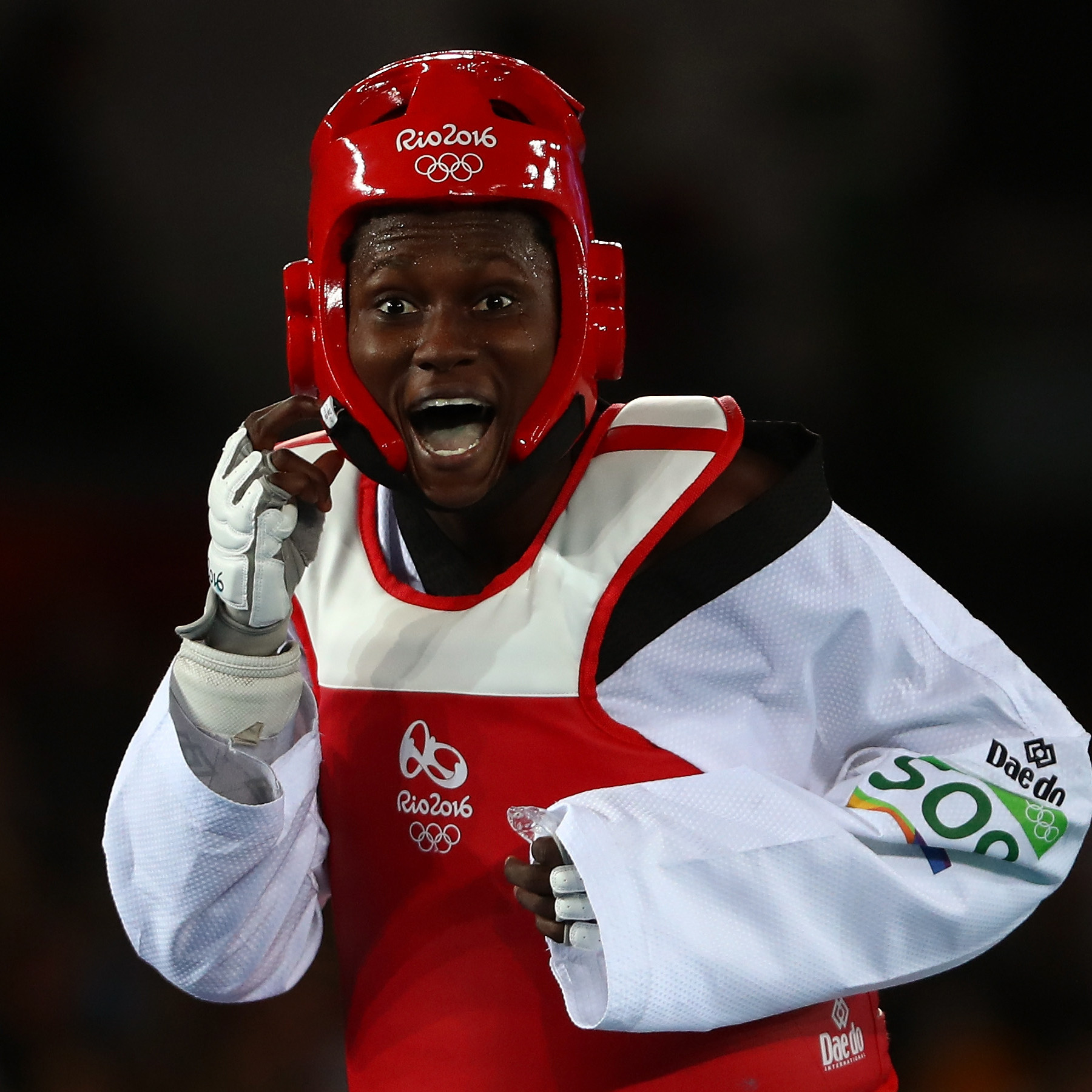Ruth Gbagbi - the Ivorian with a full palette of taekwondo weaponry