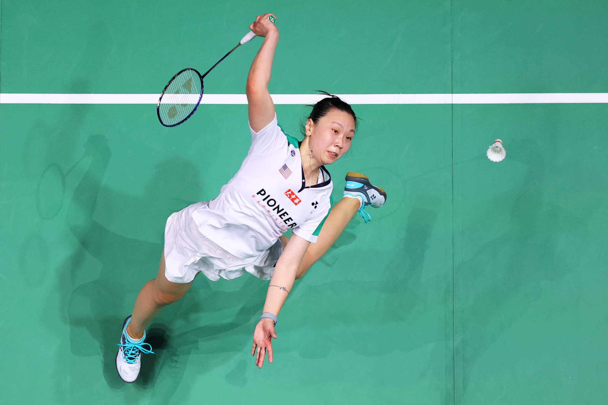 Beiwen Zhang is the top seed in the women's singles ©Getty Images