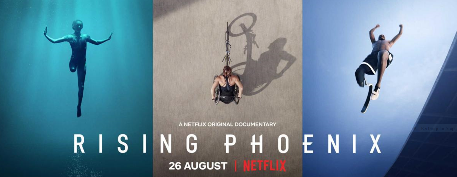 Paralympics documentary Rising Phoenix has been nominated for four Sports Emmy Awards ©Netflix