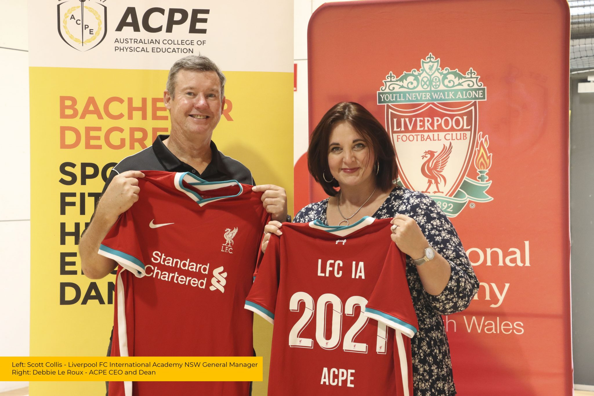 Liverpool FC enters youth coaching partnership with Australian College of Physical Education in Sydney