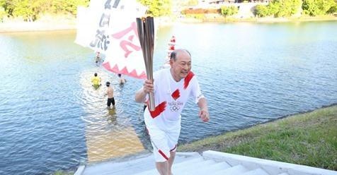 Bach praises 109-year-old Torch bearer Shigeko Kagawa