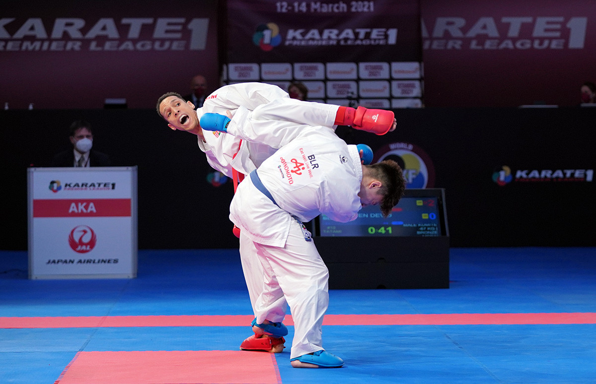 Olympic qualification points at stake as Karate-1 Premier League heads to Lisbon