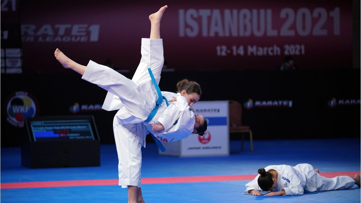 Athletes will be battling it out for vital Tokyo 2020 qualification points at the event in the Portuguese capital ©WKF