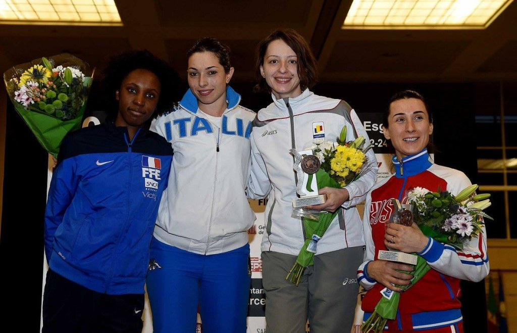Italy's Navarria comes out on top at women's épée Fencing World Cup in Barcelona