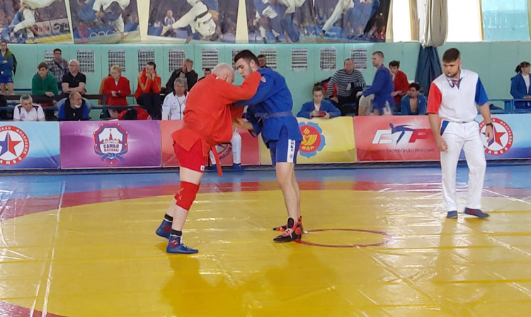 Russian Sambo Championship for the hearing impaired held in Zelenograd