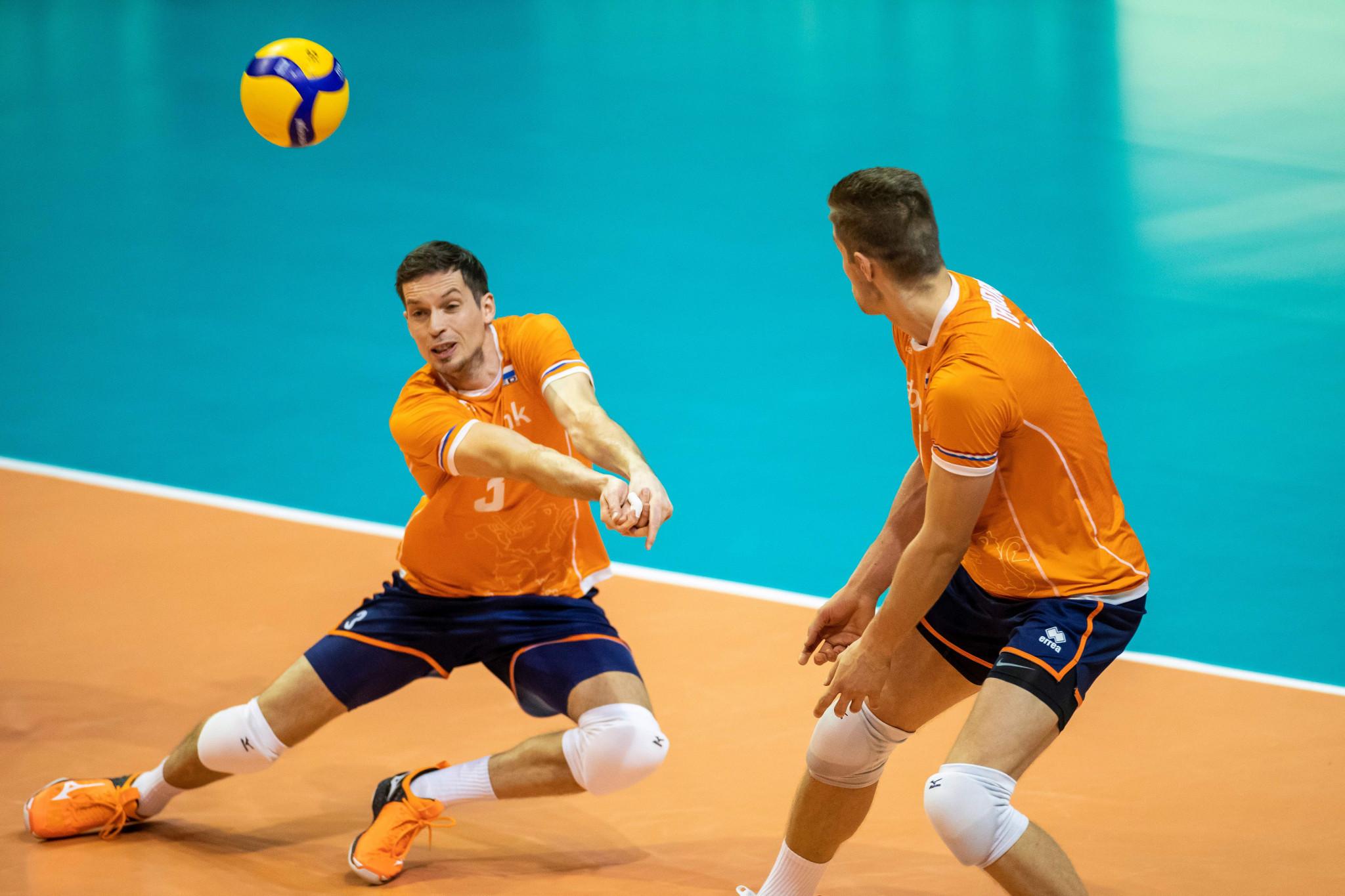 Nederland vervangt China in de Nations Volleyball League die volgende maand van start gaat © Getty Images