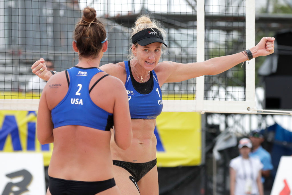 US beach volleyball Olympic spot remains on line at Beach Volleyball World Tour
