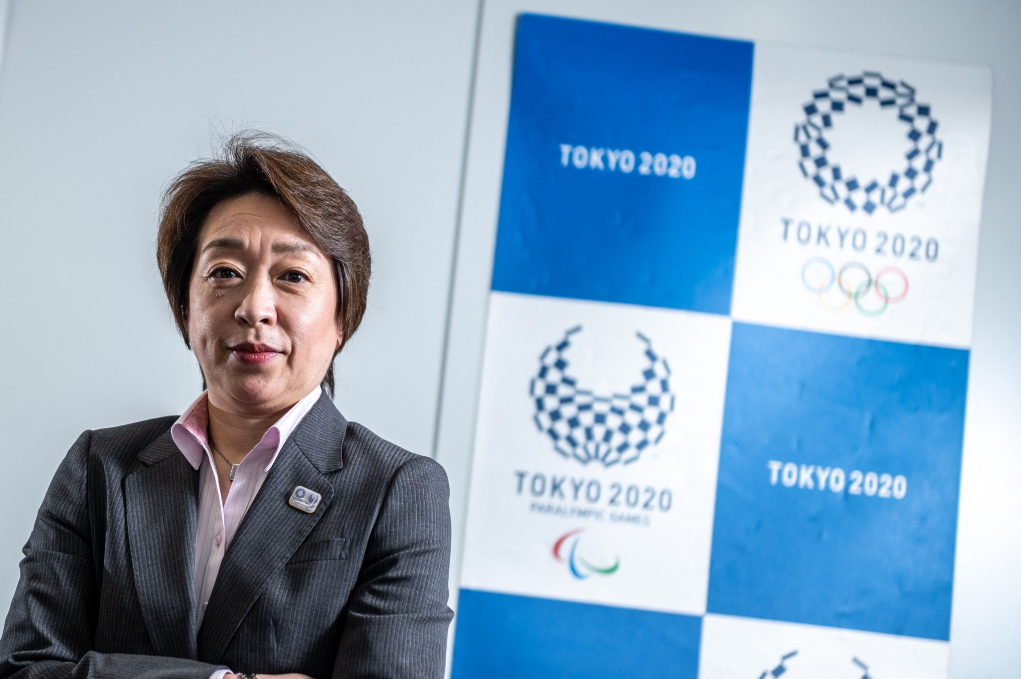 Tokyo 2020 President Seiko Hashimoto has acknowledged the Games may be held without fans ©Getty Images