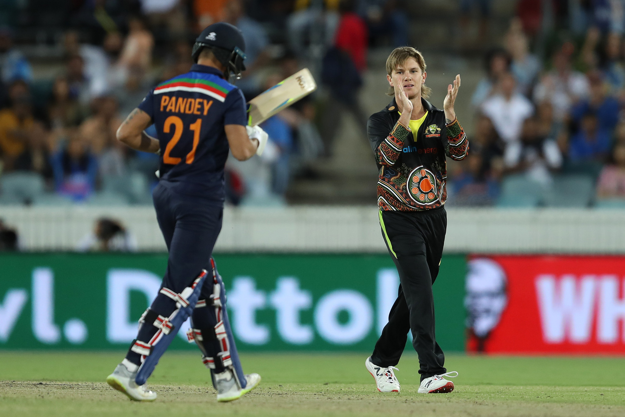 Australia's Adam Zampa has expressed concerns over the IPL being staged in India ©Getty Images