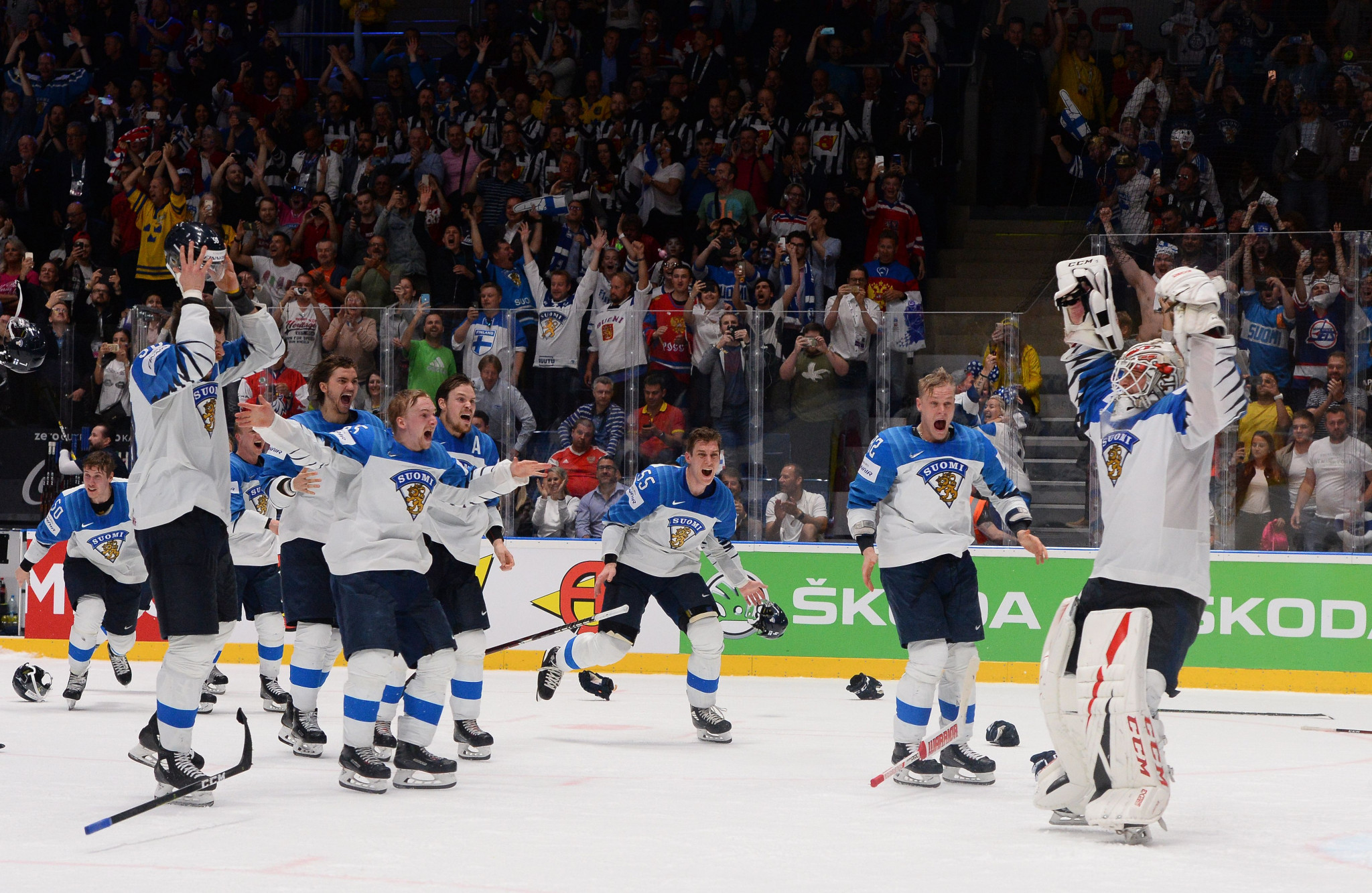 The Finnish men's ice hockey team were crowned world champions in 2019 and will be aiming to secure their first Olympic gold at Beijing 2022 ©Getty Images
