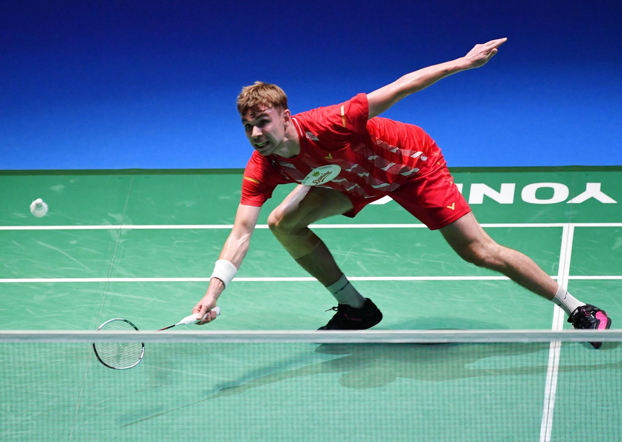 Koljonen shocks Gemke to reach semis at European Badminton Championships