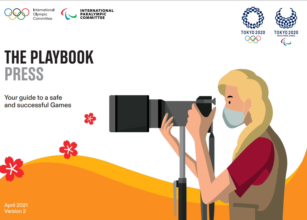 Tokyo 2020 organisers have released a second version of a media playbook for the upcoming Olympic and Paralympic Games ©Tokyo 2020