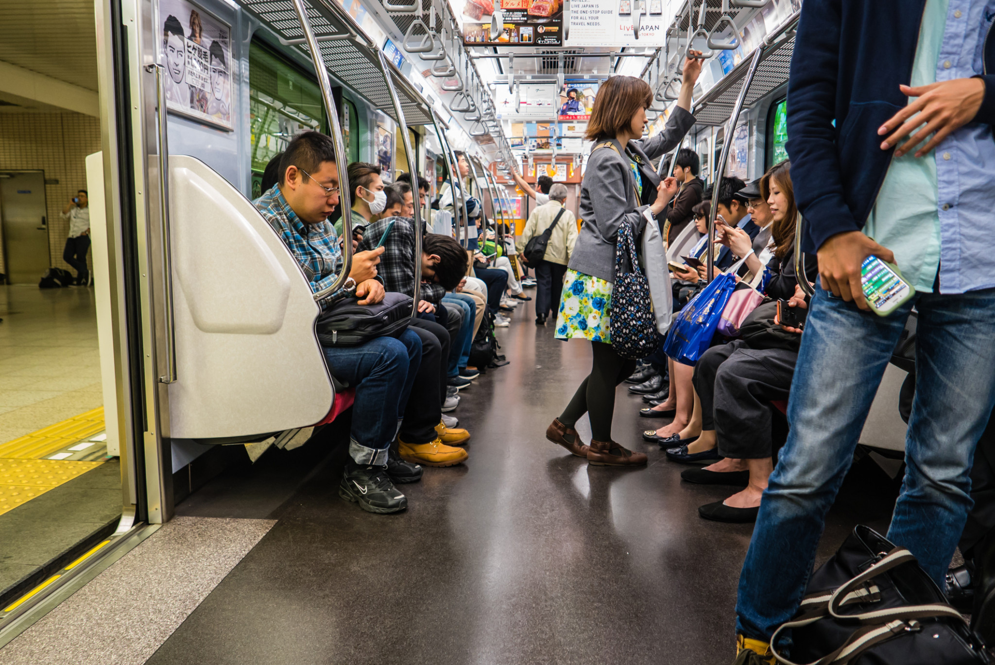 The media will be allowed to use public transport during Tokyo 2020 after all - but only after they have spent 14 days in Japan ©Getty Images