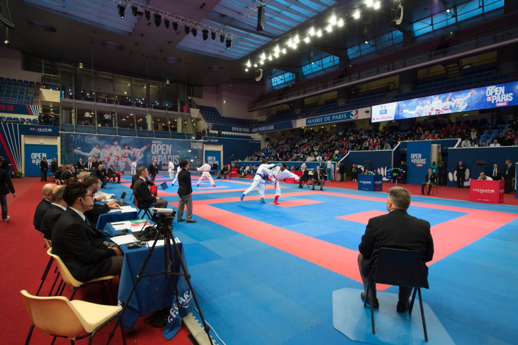 European karate champion Aghayev suffers controversial exit as host of leading contenders fall at Paris Open