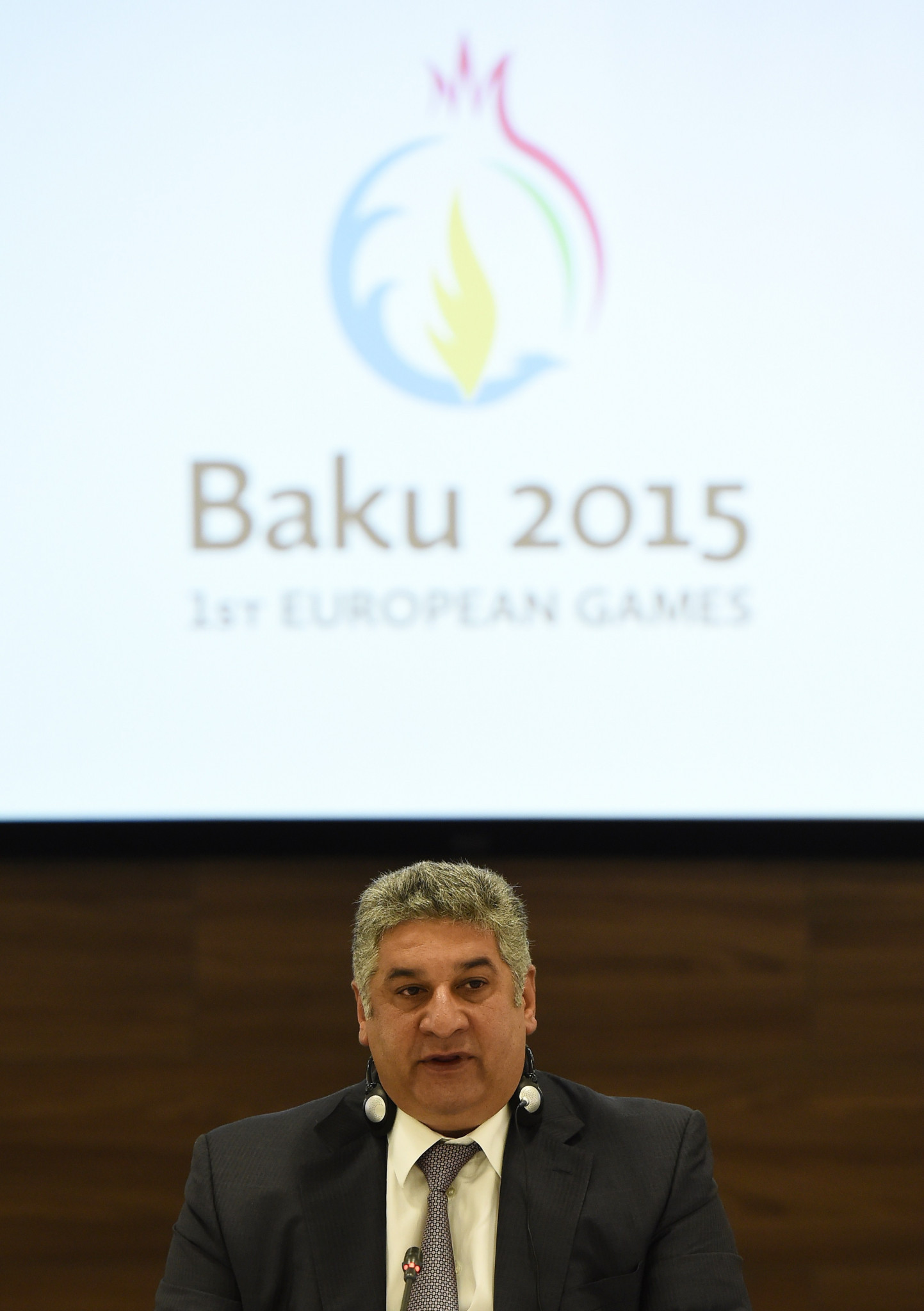 Azad Rahimov played a leading role in the organisation of the first European Games at Baku in 2015 ©Getty Images