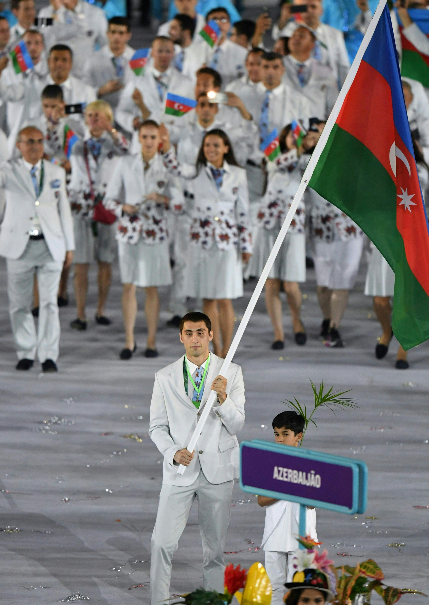 Under Azad Rahimov, Azerbaijan enjoyed a series of record-breaking Olympic performances - but they were often overshadowed by allegations of doping and corruption ©Getty Images