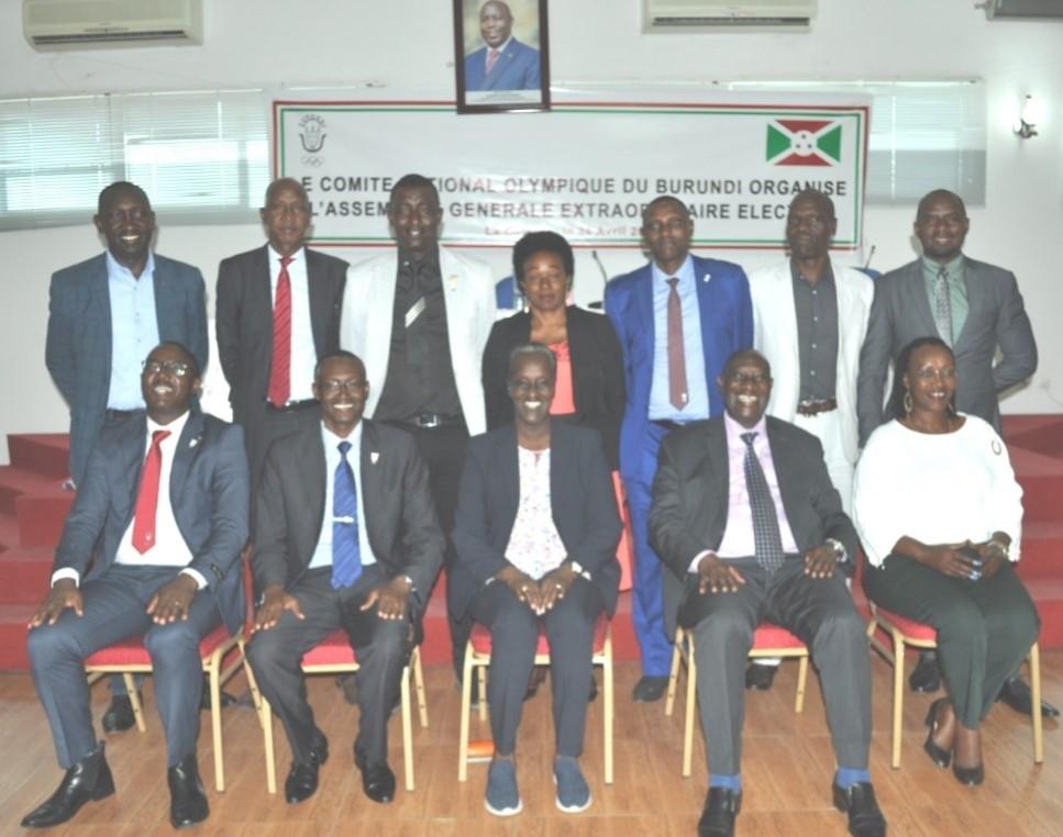 Nsekera re-elected unopposed as Burundi National Olympic Committee President