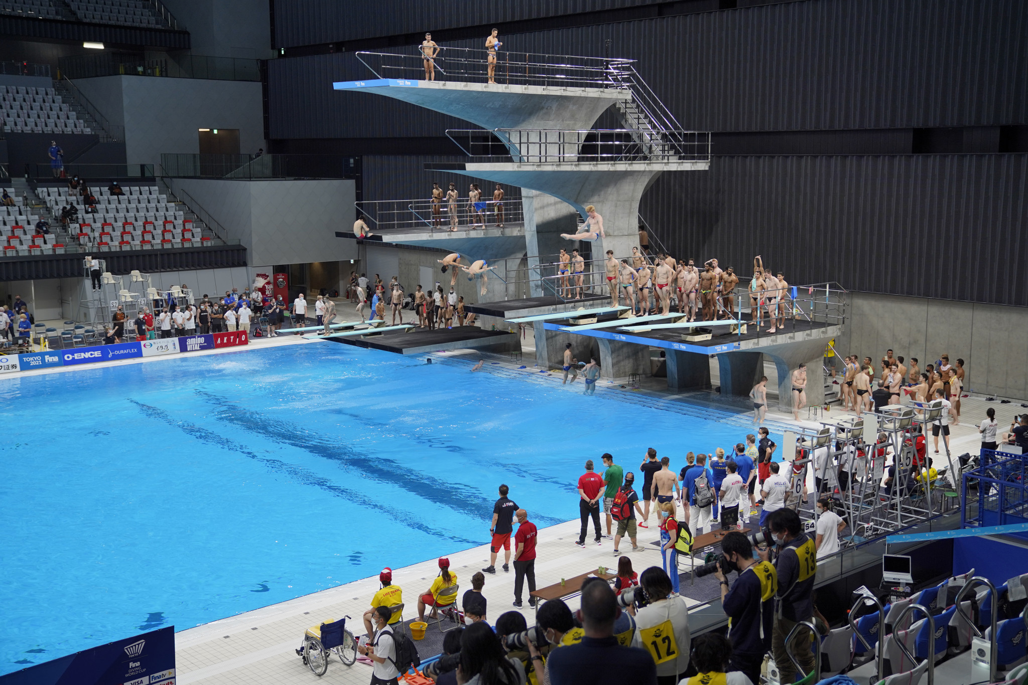 COVID-19 countermeasures under spotlight at two Tokyo 2020 Olympic test events