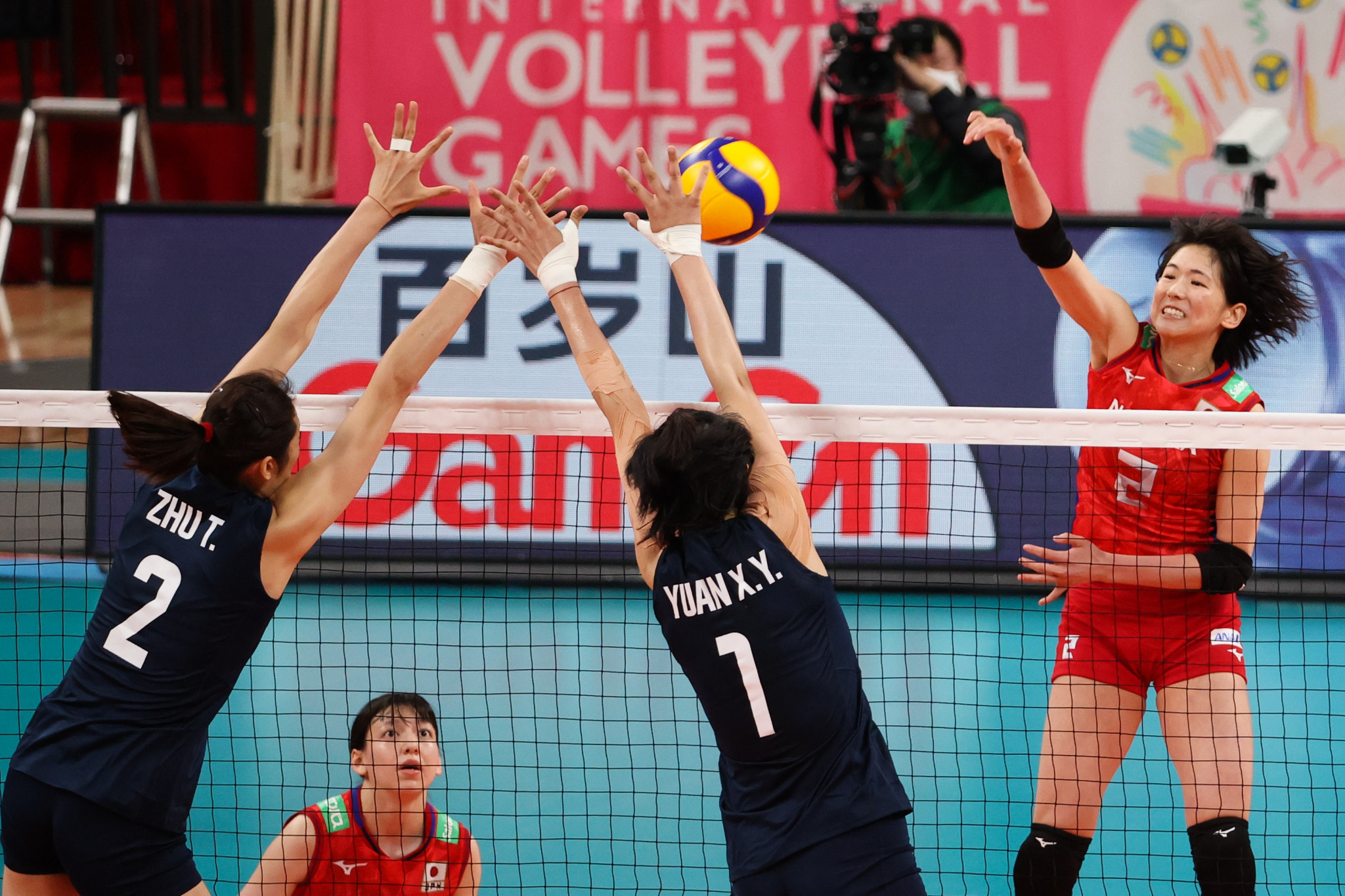 China and Japan are going head-to-head in a series of volleyball matches as part of a Tokyo 2020 test event ©Getty Images