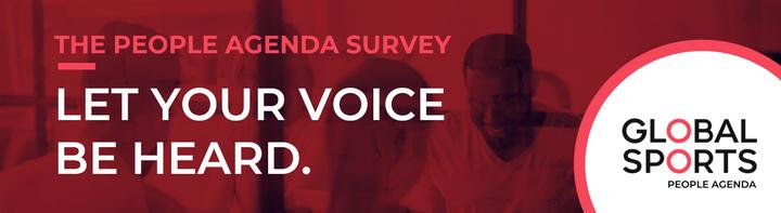 Global Sports People Agenda Survey returns for 2021