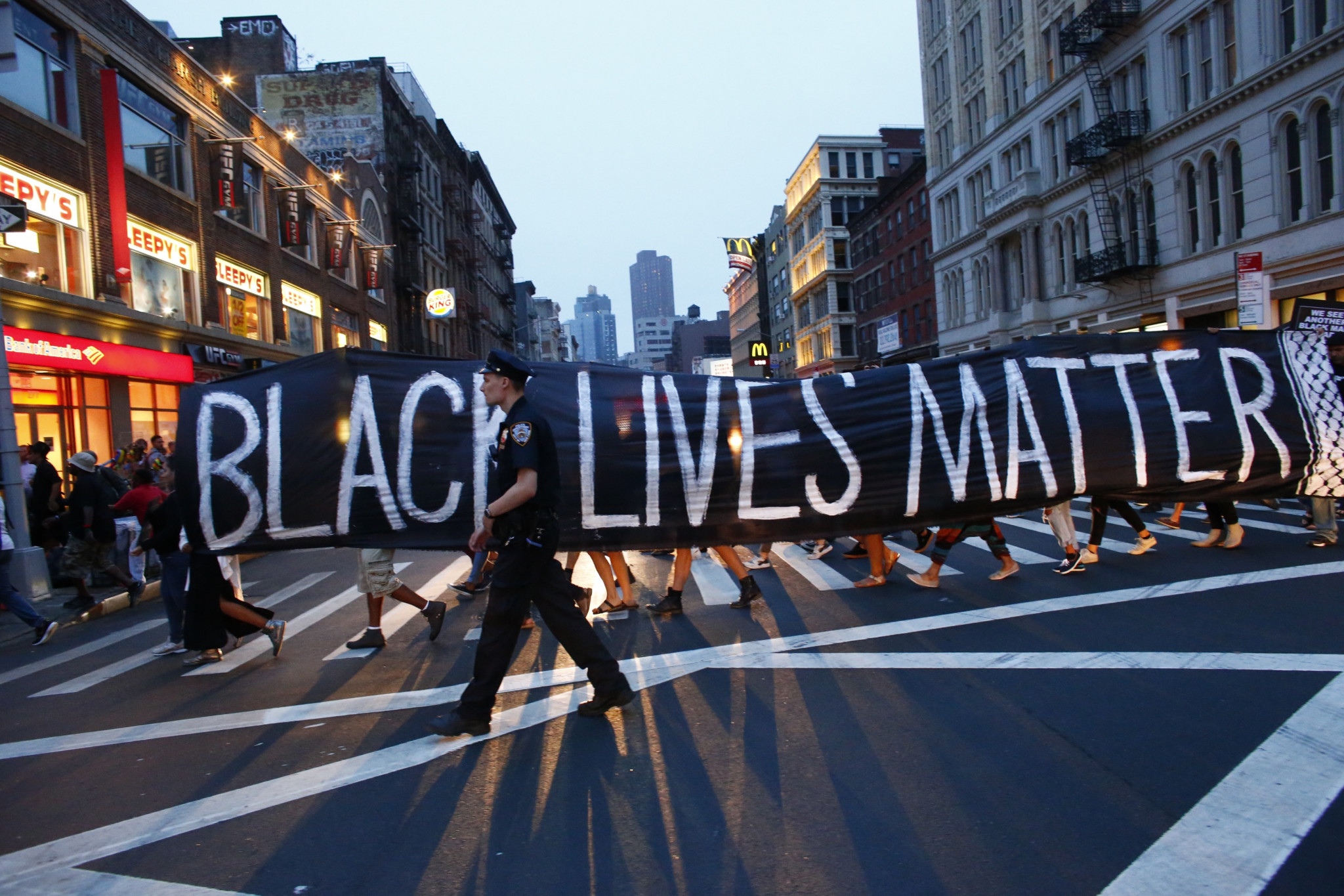 Only 39 per cent thought their companies supported the Black Lives Matter movement ©Getty Images