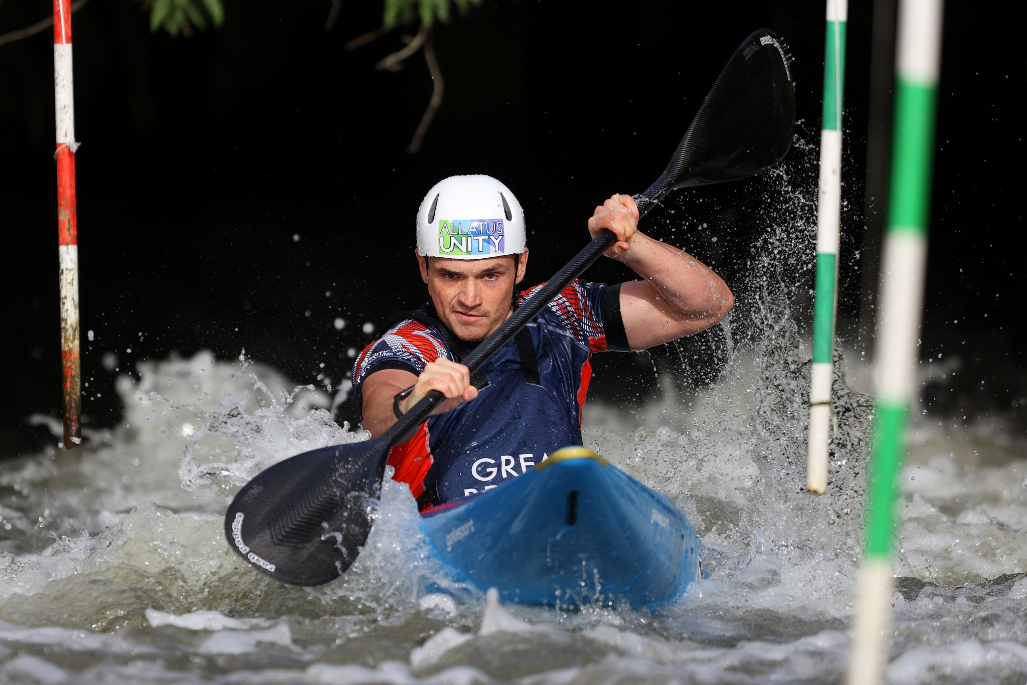 Bradley Forbes-Cryans claimed the men's K1 spot for Britain for Tokyo 2020 ©Getty Images