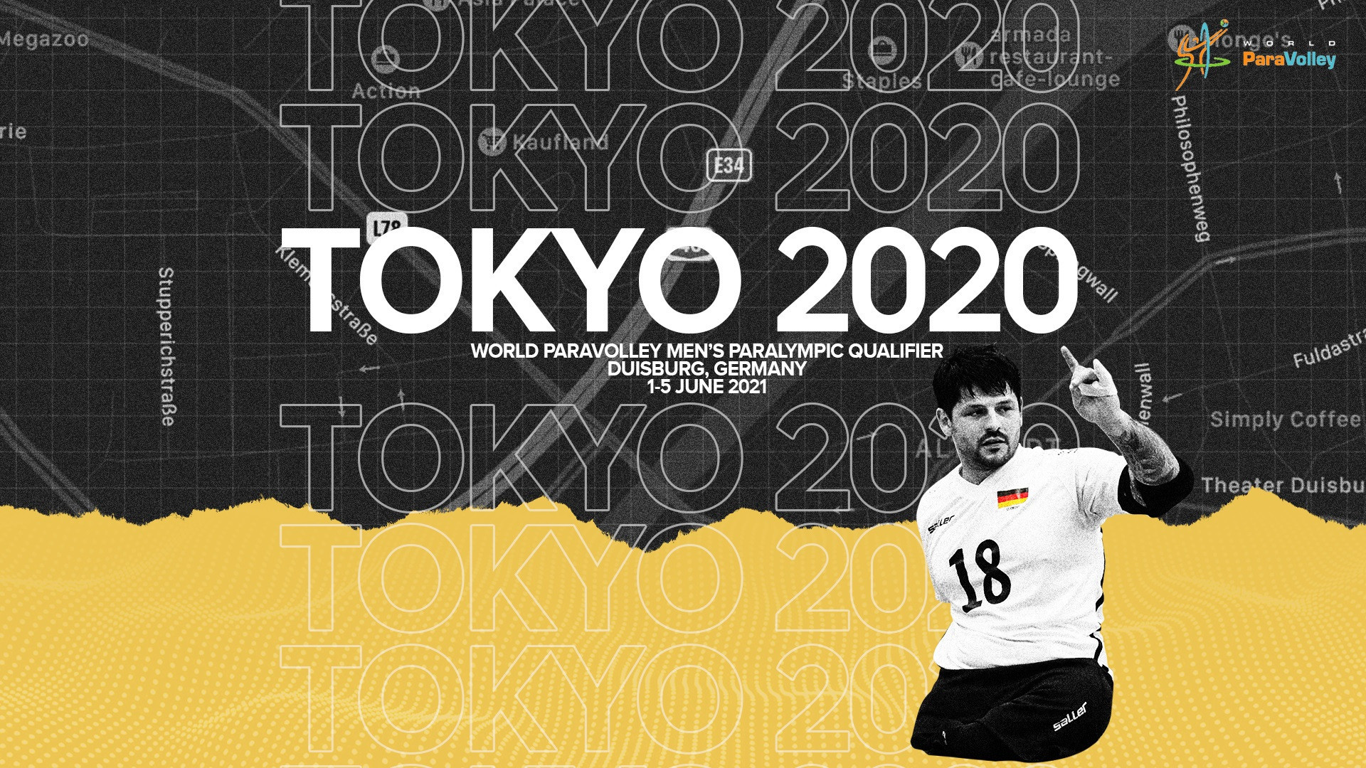 Duisburg given go-ahead to stage final Tokyo 2020 sitting volleyball qualifier in June