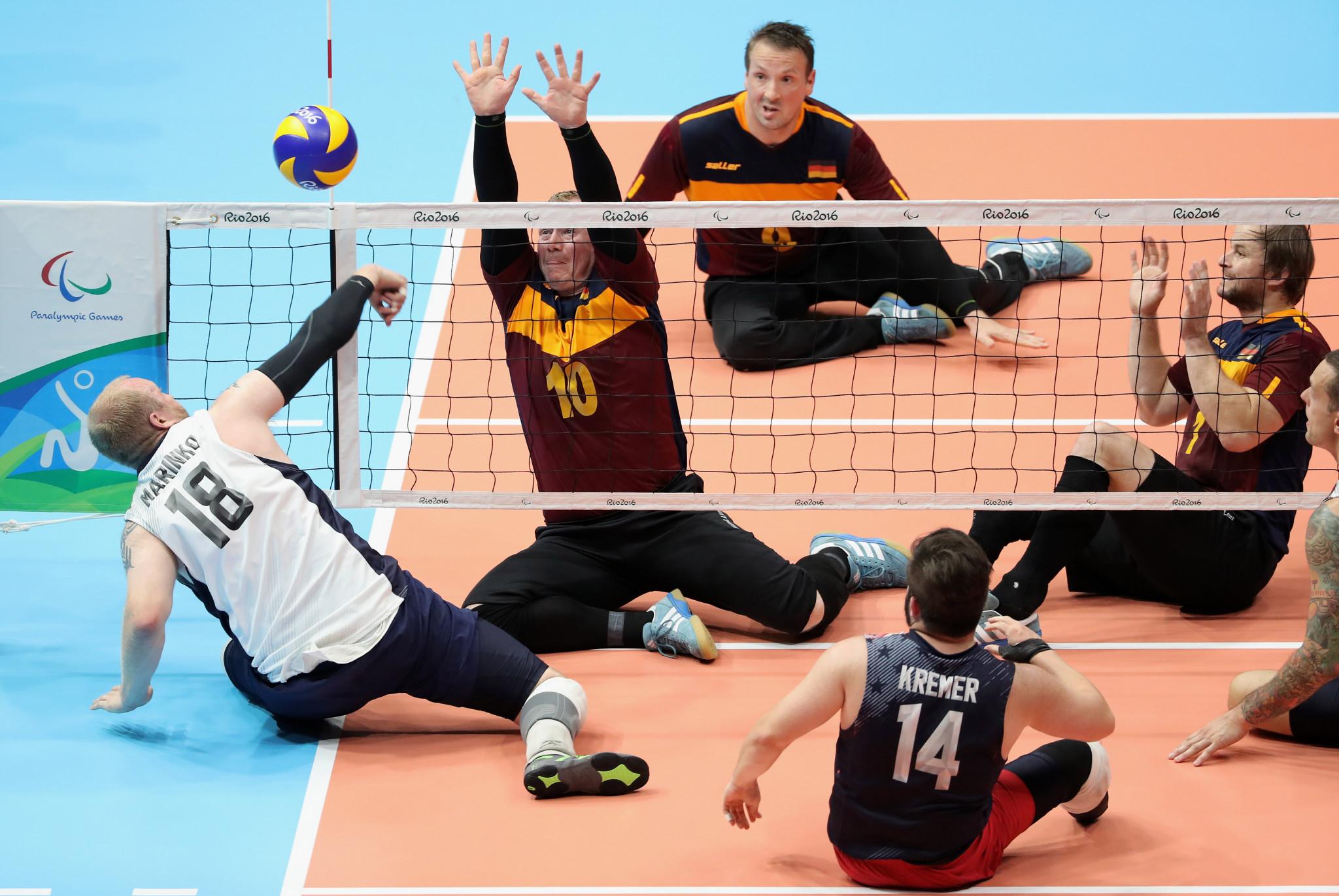 Kazakhstan and Ukraine remain unbeaten in men's sitting volleyball qualifier