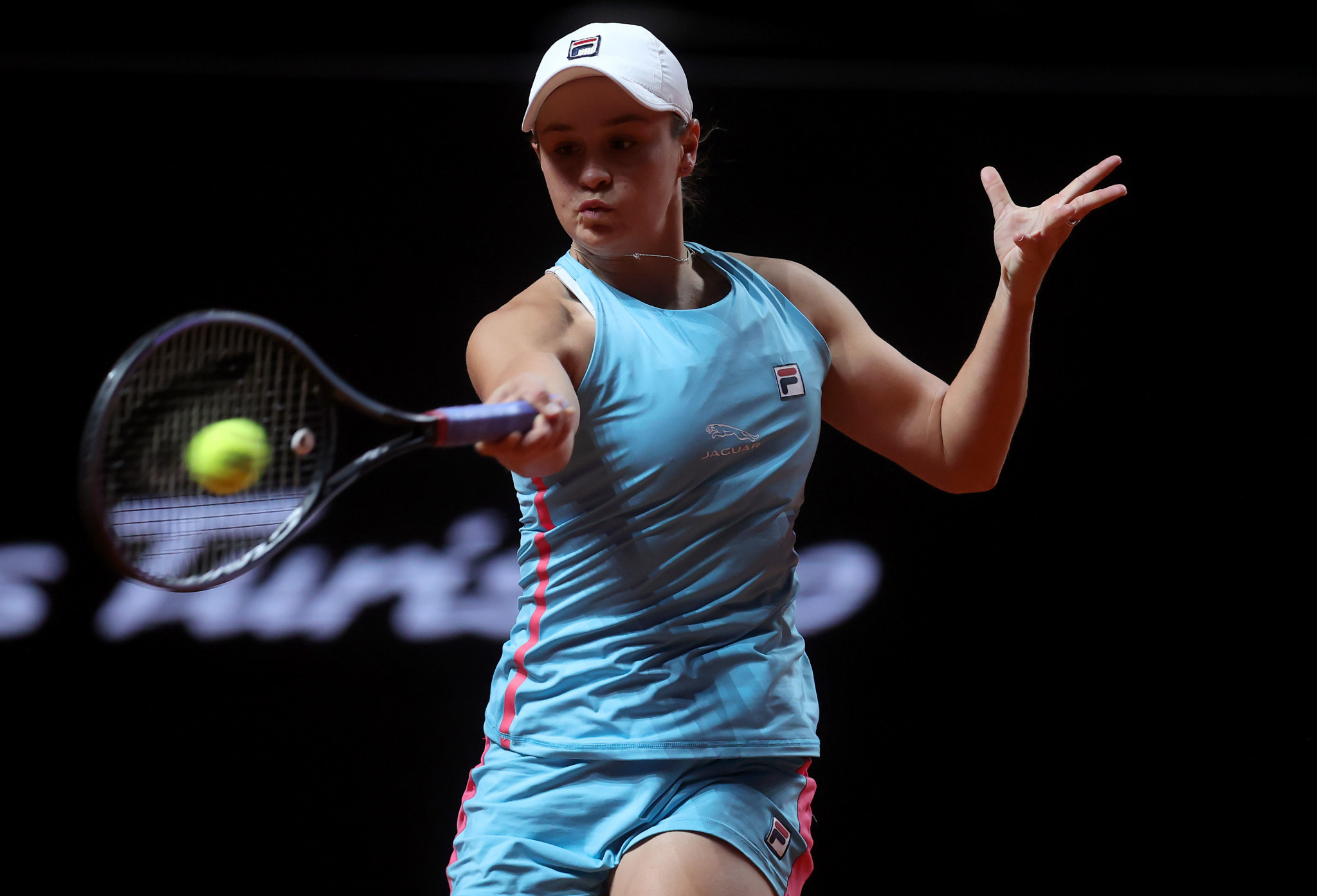 Ashleigh Barty won her second round match in three sets ©Getty Images