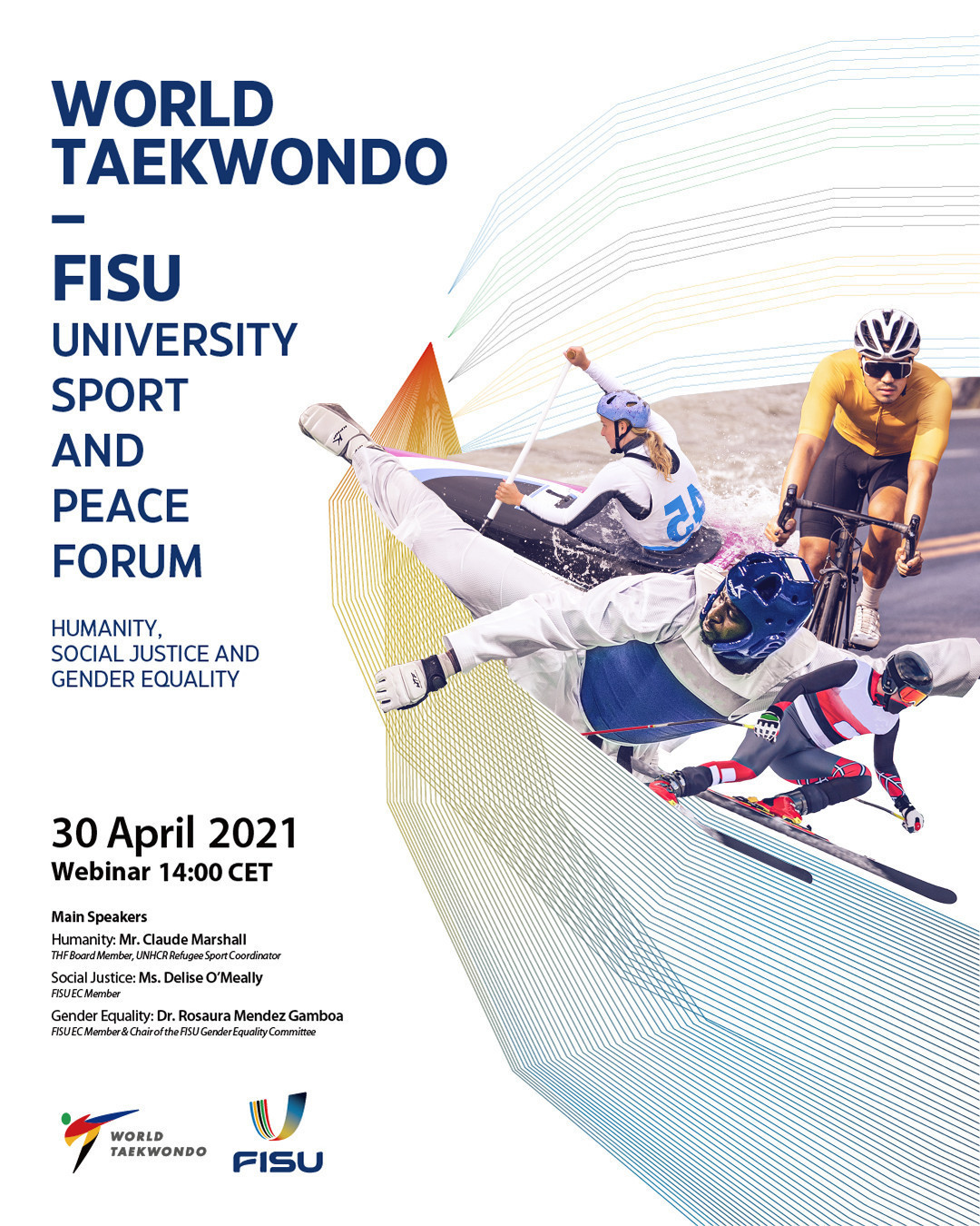 First World Taekwondo-FISU University Sport and Peace Forum hears THF Board member's plea