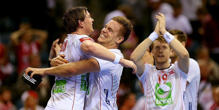 Norway stun Poland to inflict first defeat on hosts at European Men's Handball Championship