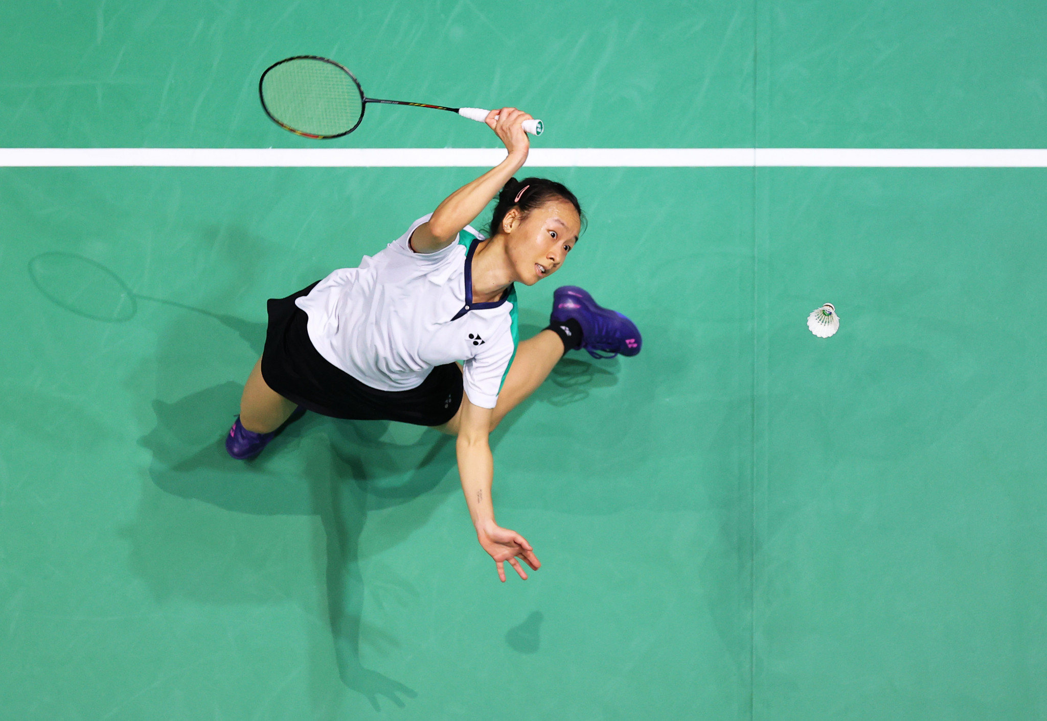 Second seed Iris Wang suffered a shock semi-final defeat to 17-year-old Rachel Chan ©Getty Images