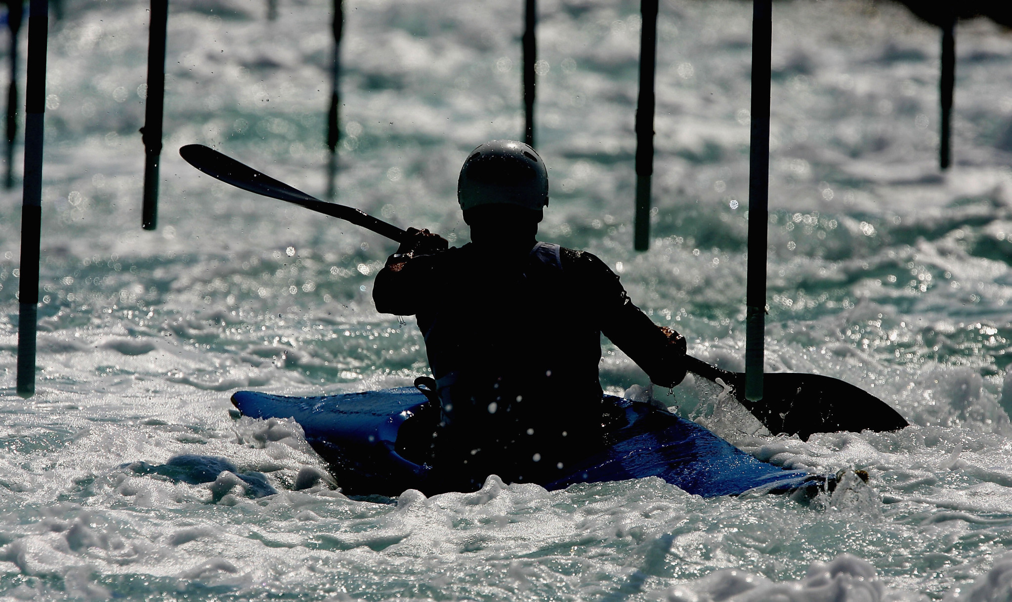 India's canoeing team are not competing at the Asian Canoe Slalom and Canoe Sprint Championships this month ©Getty Images