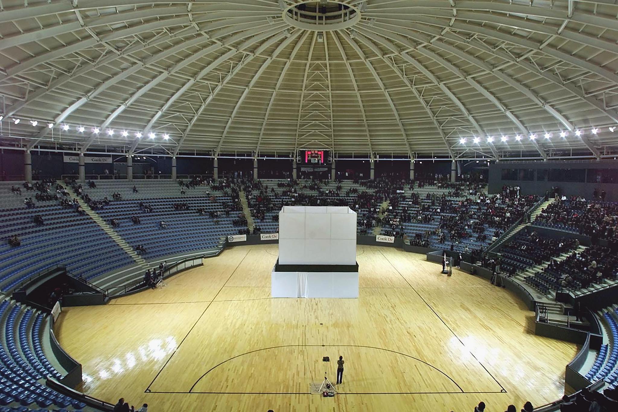 Todos los partidos se jugarán en el Domo Polideportivo © Getty Images