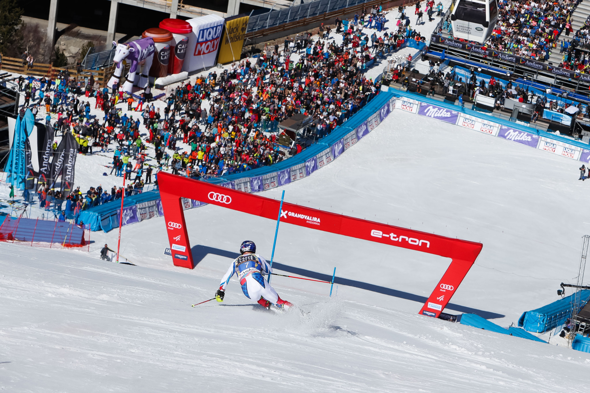 Soldeu is one of the bidders for the 2027 Alpine World Ski Championships ©Getty Images