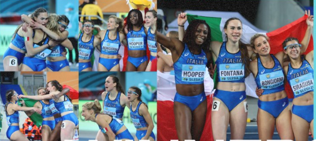 Italy won two golds on the concluding day of the World Athletics Relays Silesia21 ©World Athletics Twitter