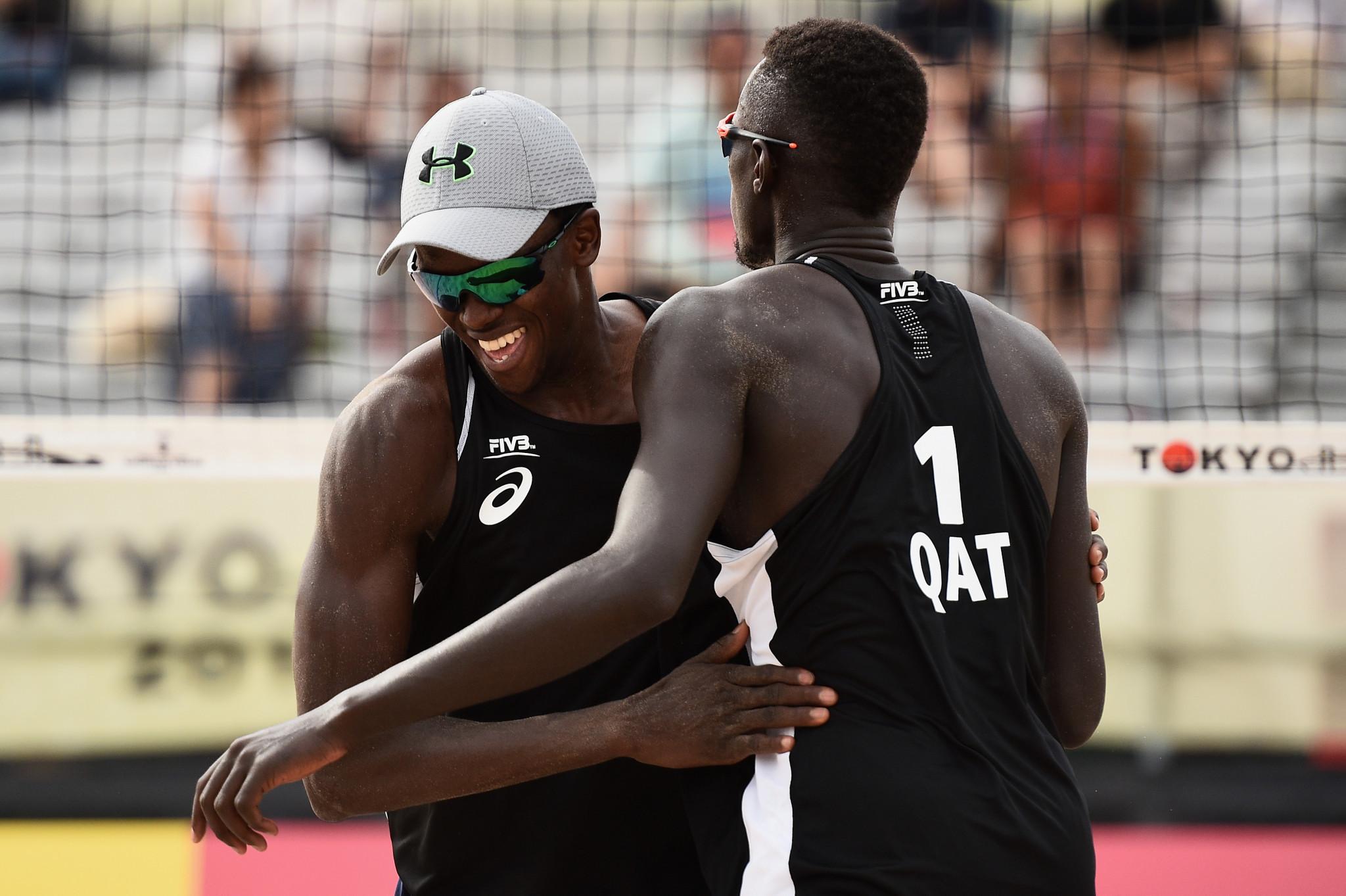 Samba and Tijan claim Beach Volleyball World Tour gold at third attempt