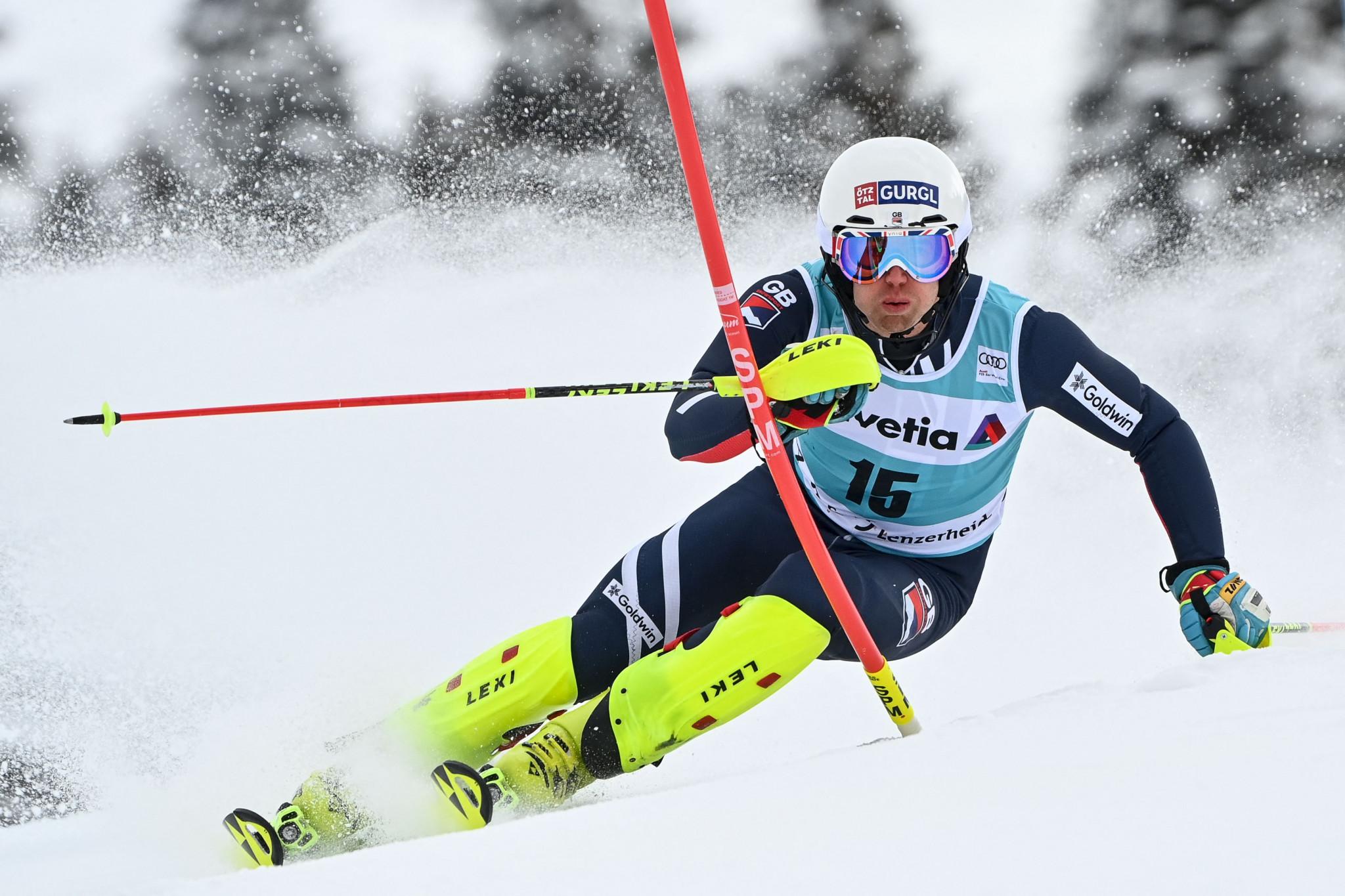 Ryding among six athletes named on British Alpine squad for new season
