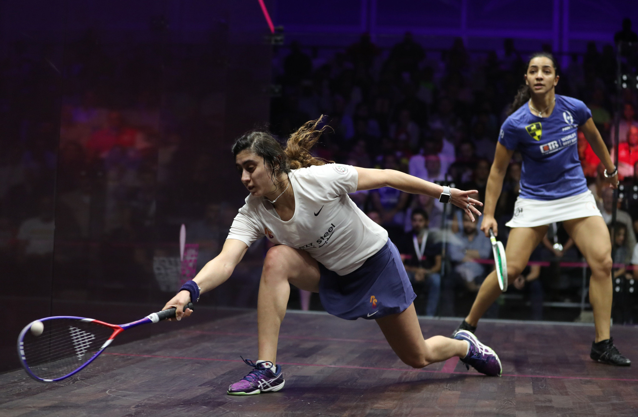 Nour El Sherbini will hope to maintain her place at the top of the world rankings when the El Gouna International takes place later this month ©Getty Images