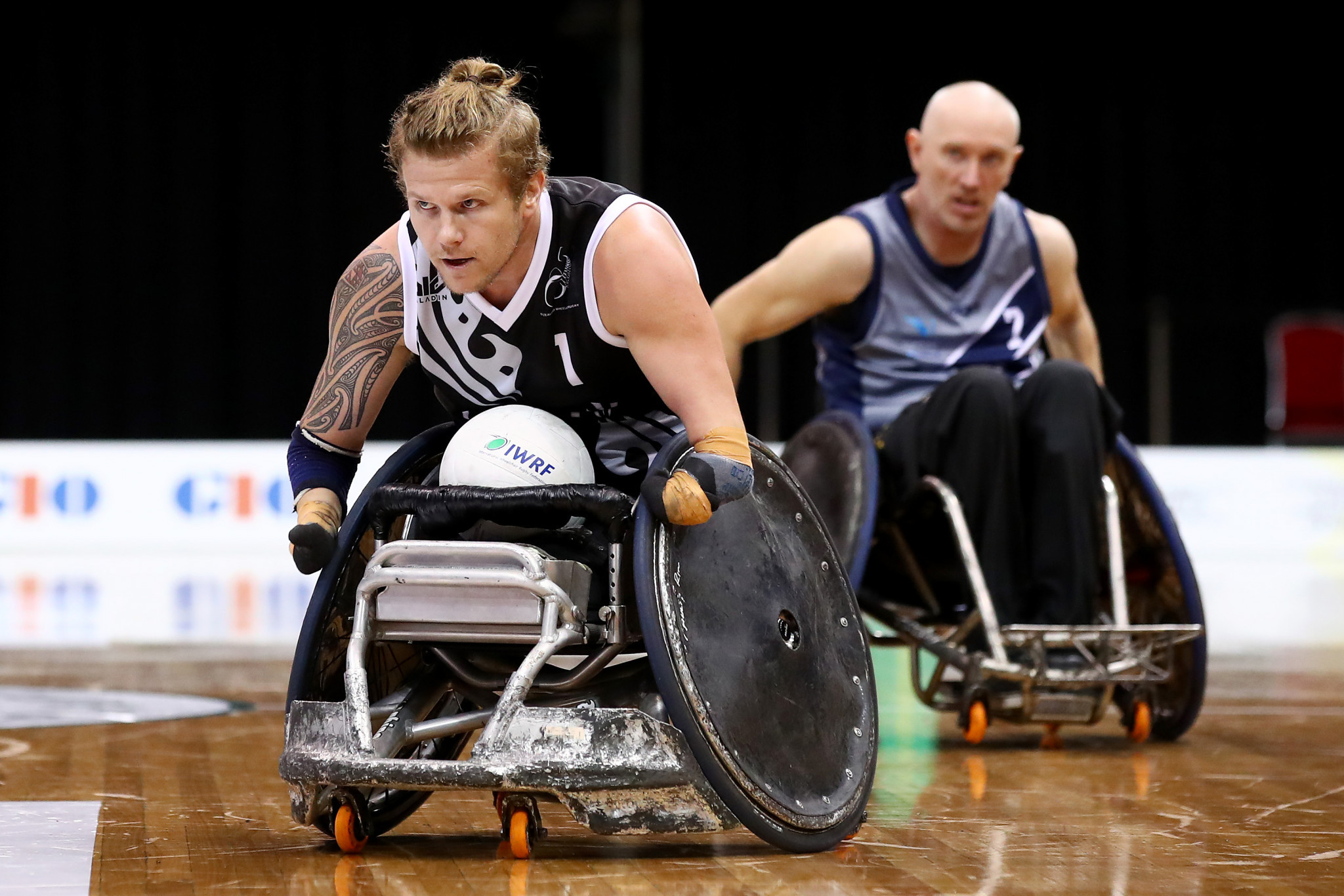 Cameron Leslie has been named in New Zealand's eight-man wheelchair rugby squad for Tokyo 2020 ©Getty Images