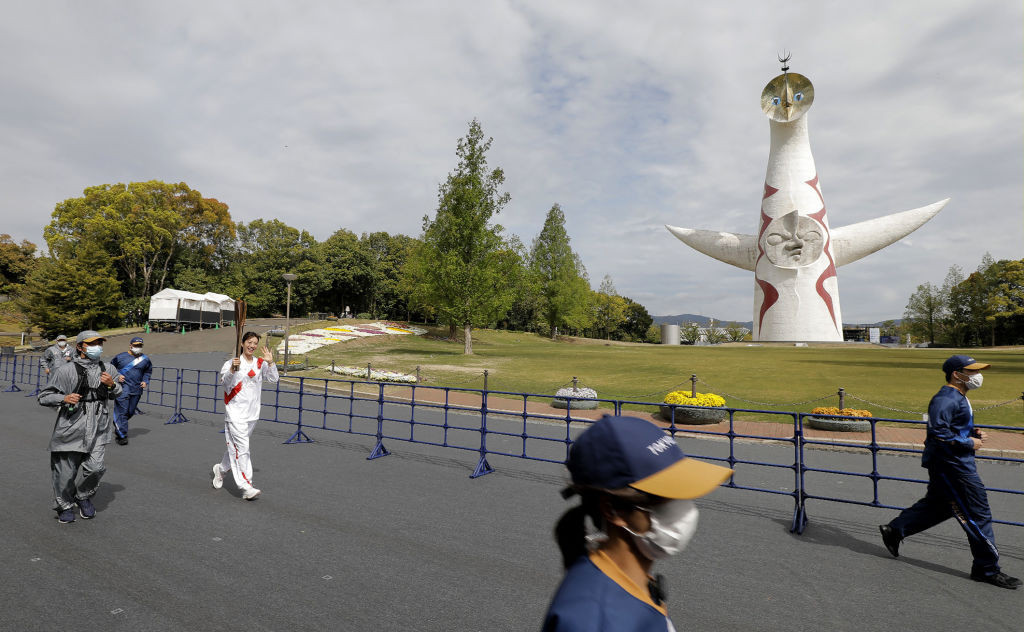 The Tokyo 2020 Torch Relay is due to resume tomorrow ©Getty Images