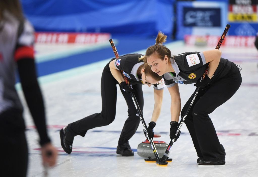 Switzerland and RCF continue unbeaten runs at World Women's Curling Championship