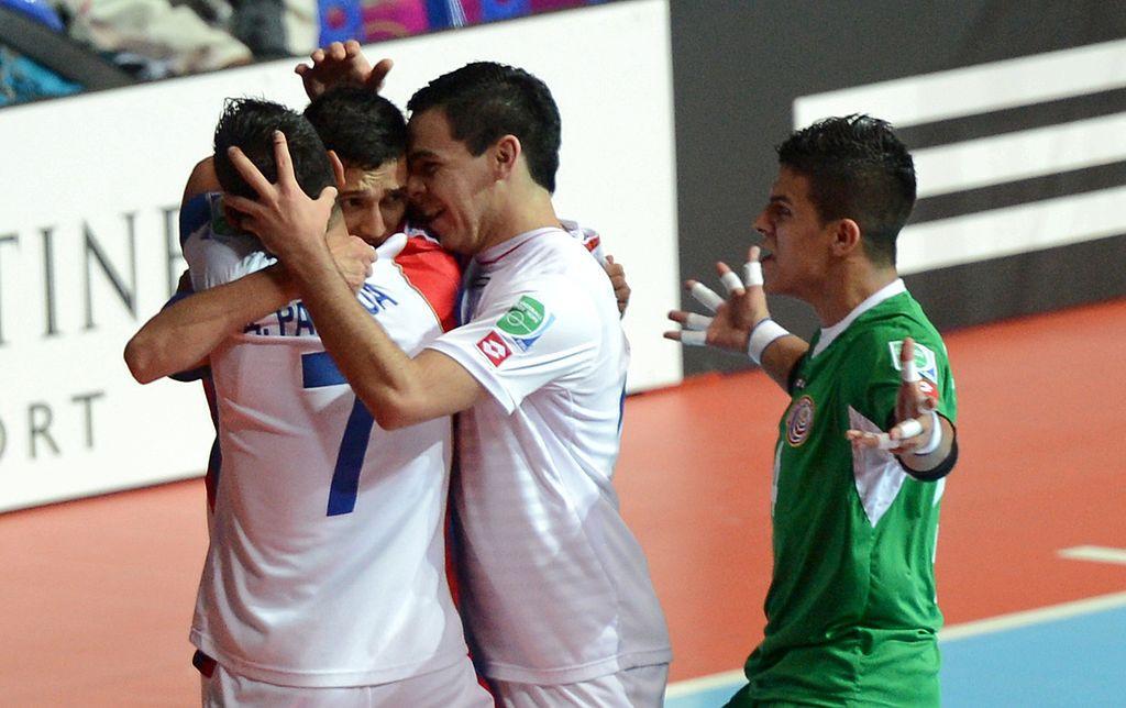 Costa Rica begin title defence by thrashing Haiti at CONCACAF Futsal Championship