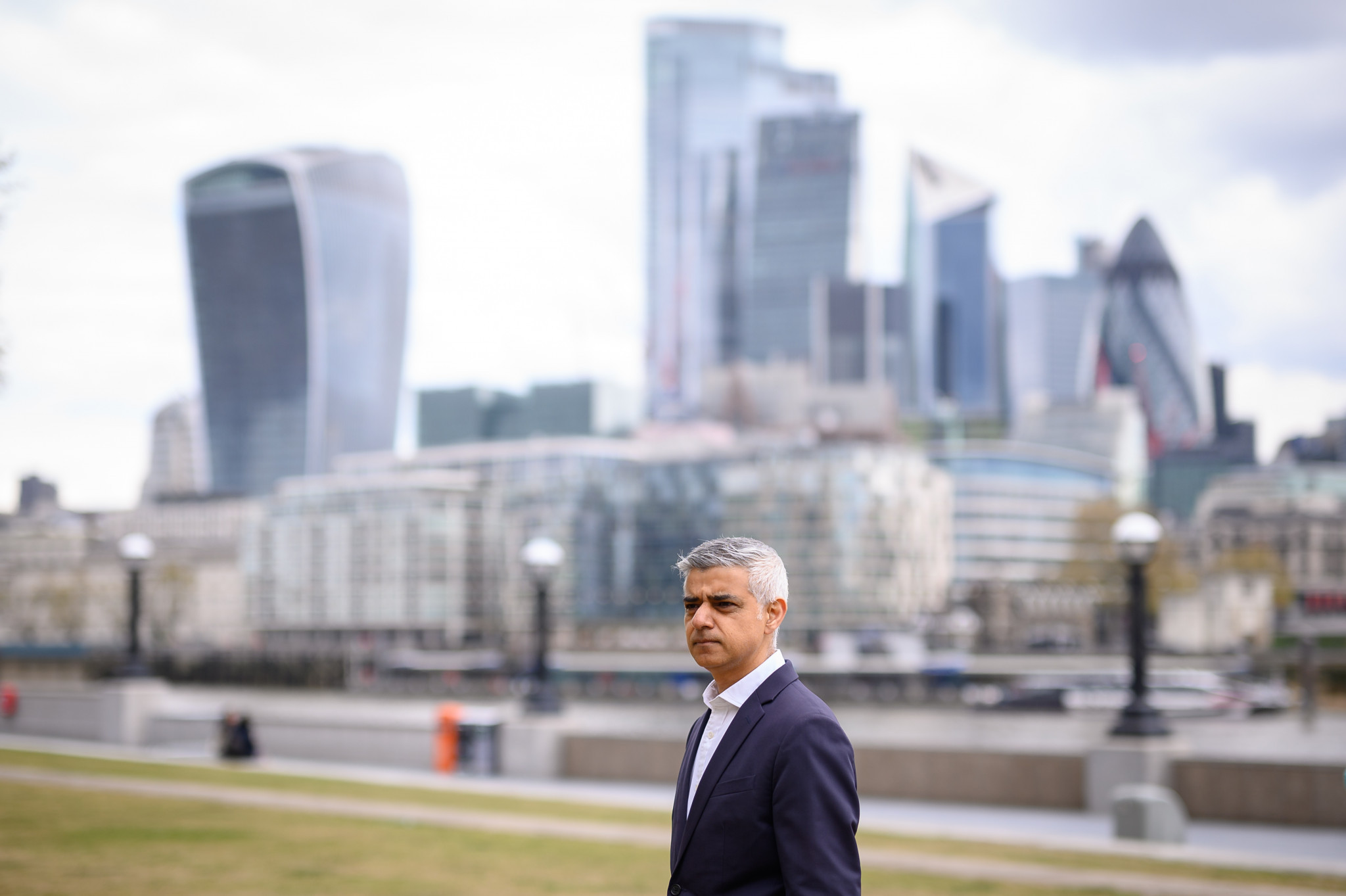 London Mayor Sadiq Khan has targeted a bid for the Olympic and Paralympic Games ©Getty Images