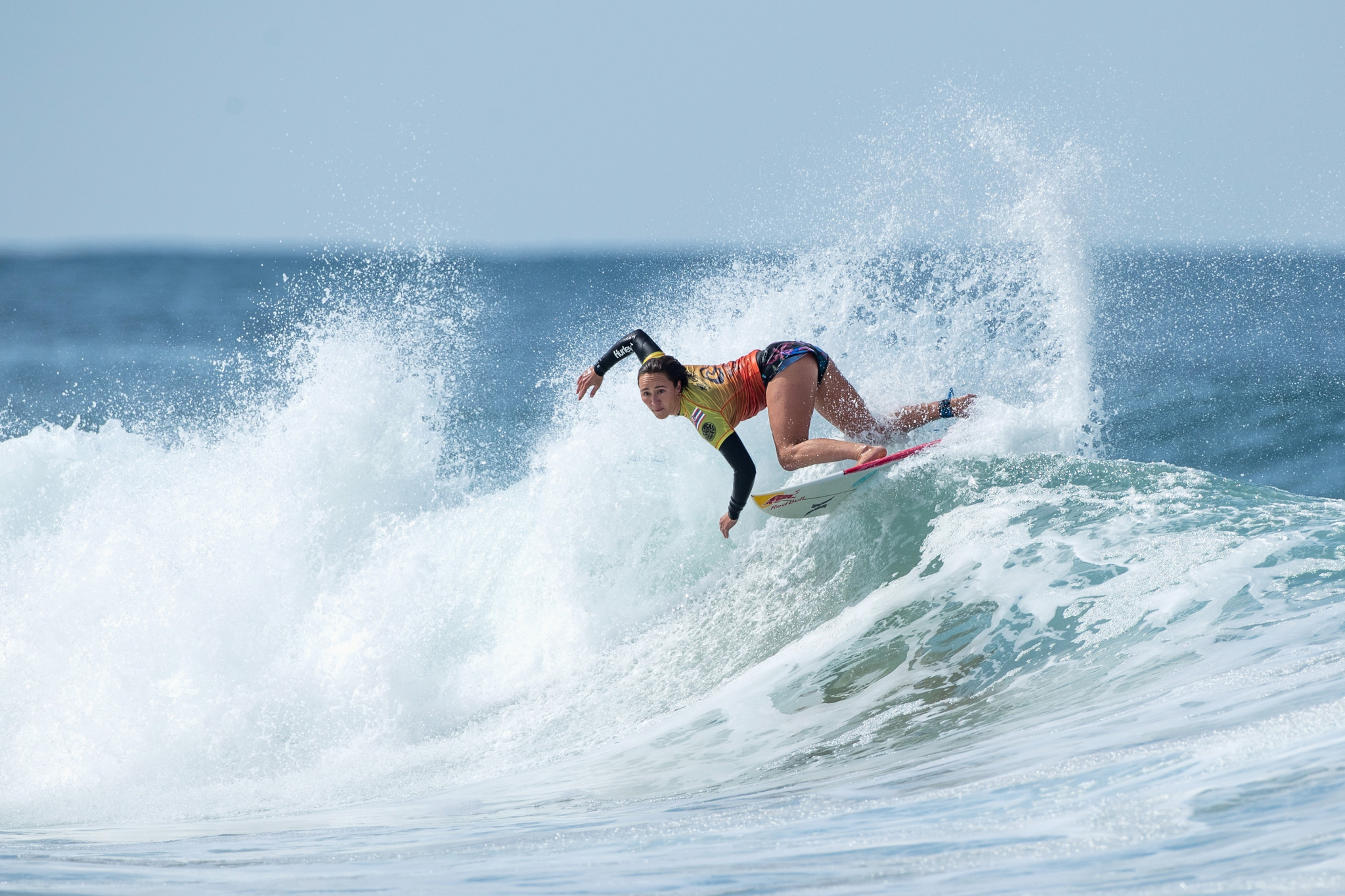 Carissa Moore advanced to the quarter-finals of the competition ©Getty Images