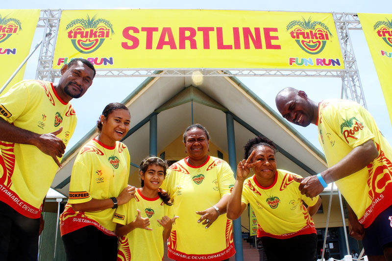 The fun run has typically raised funds to help athletes compete at major sporting events ©PNGOC