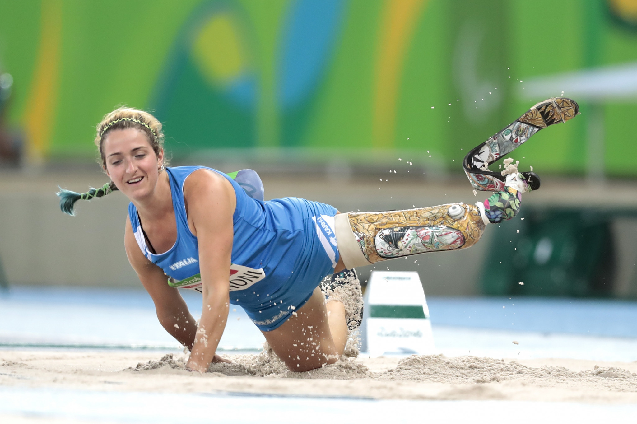 Italy's two-time Paralympic champion Martina Caironi is a candidate for the IPC Electoral Commission ©Getty Images